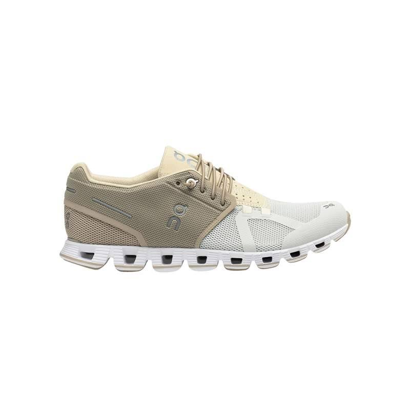 on Cloud 50 | 50 Running Shoe Women's, Sand/snow, 7.5