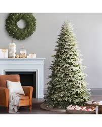 Sweet Deal On 7 5 Frosted Fraser Fir Narrow Artificial Christmas Tree