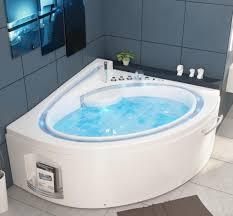 whirlpool badewanne havanna profi 165x148 cm mit 19 düsen mit heizung ozon led bachlauf radio luxus spa für bad günstig