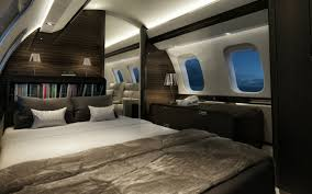 Private jet bedroom – Bedroom at Real Estate