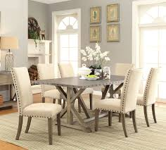 Infini Furnishings Athens 7 Piece Dining Set & Reviews | Wayfair Art Fniture Inc Saint Germain 7piece Double Pedestal Ding Laurel Foundry Modern Farmhouse Isabell 7 Piece Solid Wood Maracay Set Rectangular Ding Table 6 Chairs Vendor 5349 Lawson 116cd7gts Trestle Gathering Table With Hampton Bay Covina Alinum Outdoor Setasj2523nr Torence 7piece Counter Height 7pc I Shop Now Mangohome Liberty Lucca Formal Two And Hanover Rectangular Tiletop Monaco Splat Back Chairs By Grayson Ash Gray Wicker Round
