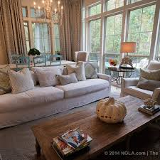 White Sofas In A Home With Four Boys Mandeville Home Proves