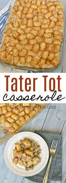 Tater Tot Casserole Is A Family Favorite Dinner That Fast To Throw Together I Usually Have All The Ingredients In My Freezer And It EASY