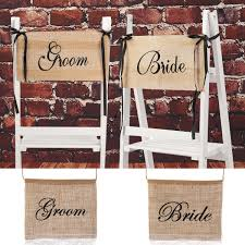 Bride Groom Wedding Chair Bunting Hessian Burlap Banner Party ... Table Runner Rustic Theme Wedding Decoration Contain Burlap Chair Sashes Cover Jute Tie Bow Burlap Table Runner To Make Folding Covers Mappyhub Design Diy Holidayinspired Im A Little Sunflower Inspiration At The Barn Williams Manor Decor Detail Feedback Questions About Wedding Decoration Chairs Dpc Event Services Easy Lip Gloss And Power Tools Amazoncom With Lace Shabby Chic Padded White Celebrations Party Rentals 17cm X 275cm Naturally Vintage Jute Im A Little Best