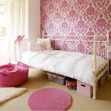 Fresh Cute Pink Wall Bedroom