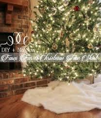 72 Inch Christmas Tree Skirts by Luxe Faux Fur Tree Skirt Restoration Hardware Holiday Ideas