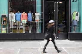 A Lululemon Store In New Yorks Union Square Shows Some Mannequins Mens Clothing Menswear Currently Accounts For About 12 Of The Brands Sales