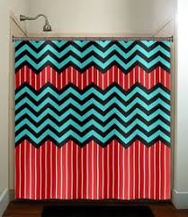 Chevron Print Shower Curtains by Kid U0027s Shower Curtain Riley Blake U0026 Upcycled Zebra Print Shower