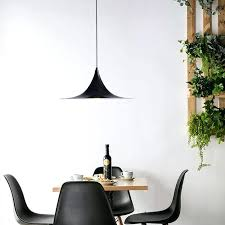 simple wrought iron light modern pendant lights scallop circa