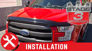 2015-2016 F-150 AVS Bugflector II Bug Deflector Install - YouTube Ford Gl3z16c900a F150 Hood Deflector Smoked 52018 52016 Avs Bugflector Ii Bug Install Youtube Shields For Peterbilt Kenworth Freightliner Volvo Deflectors And Leonard Buildings Truck Accsories Weathertech 50139 Easyon Dark Smoke Stone Grille Surround Dieters Guard Suv Car Hoods Wade Platinum Get Fast Free Shipping Shield