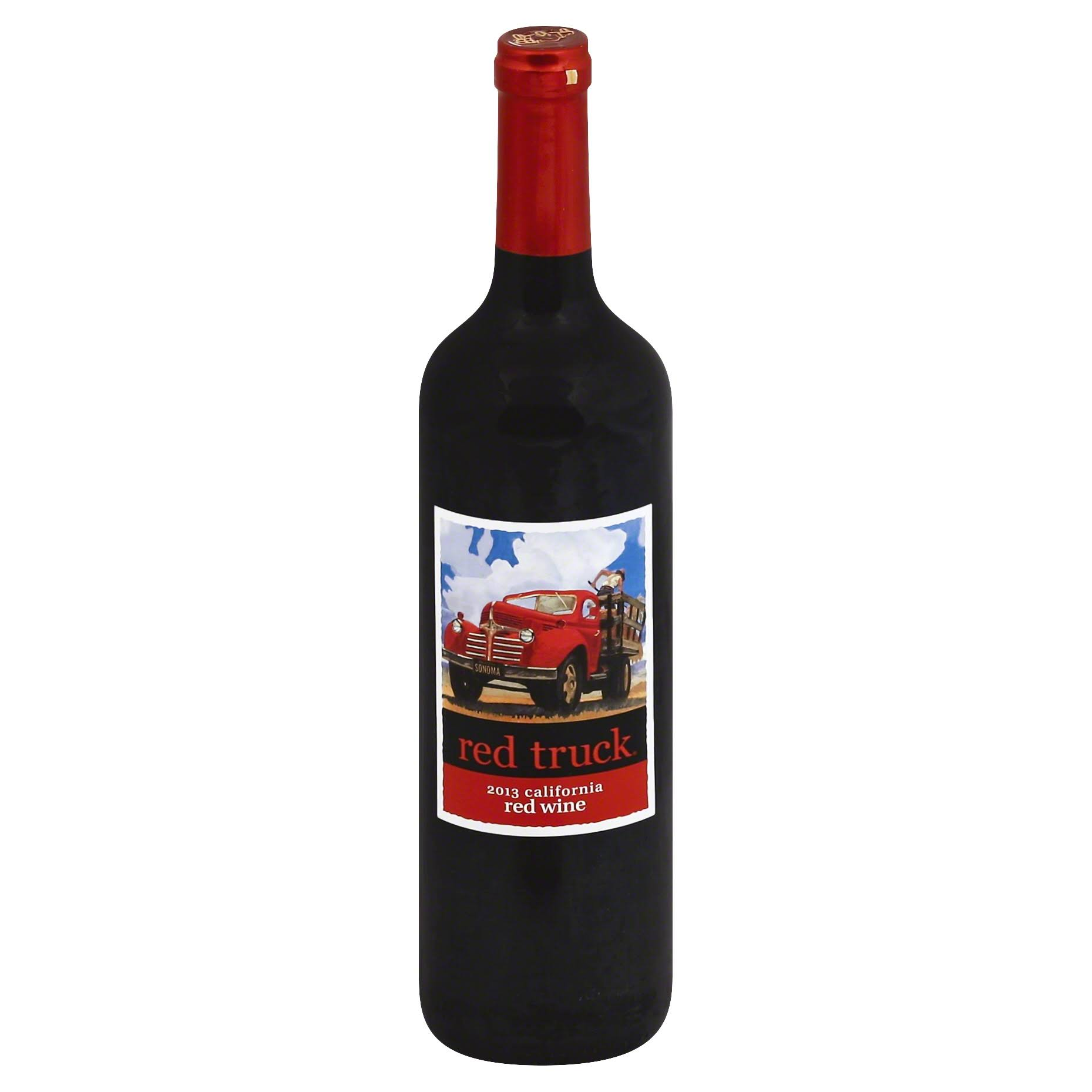 Red Truck Red Wine, California, 2013 - 750 ml