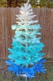 Punk Projects DIY Ombre Christmas Tree