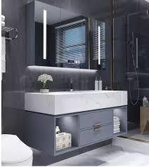 marmor bad schrank kombination intelligente luxus moderne minimalistischen waschbecken waschbecken bad waschbecken schrank