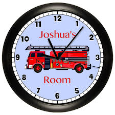 Fire Truck Personalized Wall Clock Design Ideas Of Fire Engine Wall ... Hey Duggee Fire Truck Magazine Toy Youtube Pinkfong Car Coloring Book Stickers Engine Monthly Sticker Baby Photo Props Tribal Flames Graphics Vinyl Tattoos Decal Trucks Cars Motorcycles From Smilemakers New Replacement Decals For Little Tikes Cozy Coupe Ii Personalised Fire Engine Vinyl Wall Sticker By Oakdene Designs Milestone The Paper Shamrock Filesan Francisco Station 12 Truck With Grateful Dead Xl Wall Nursery Kids Rooms Boy Room Party Supplies