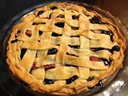 Blueberry Strawberry Pie