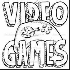 Brilliant Drawing Game Clip Art With Video Coloring Pages And