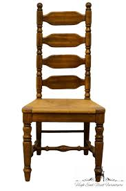 Details About High End Rustic Country Style Ladderback Dining Side Chair W.  Rush Seat 6 Ladder Back Chairs In Great Boughton For 9000 Sale Birch Ladder Back Rush Seated Rocking Chair Antiques Atlas Childs Highchair Ladderback Childs Highchair Machine Age New Englands Largest Selection Of Mid20th French Country Style Seat Side By Hickory Amina Arm Weathered Oak Lot 67 Set Of Eight Lancashire Ladderback Chairs Jonathan Charles Ding Room Dark With Qj494218sctdo Walter E Smithe Fniture Design A 19th Century Walnut High Chair With A Stickley Rush Weave Cape Ann Vintage Green Painted