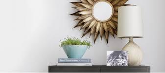 Home Wall Decor Mirror Art And Shelves
