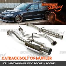 FITS 92-00 HONDA CIVIC 2/4DR JDM CATBACK EXHAUST SYSTEM MUFFLER 2.5 ... Flowmaster 17362 Catback Exhaust System Force Ii 1999 Borla Stype Catback 12671 Milltek Sport Audi 8p A3 Fwd 20t On 3 Performance Mustang Foxbody 50 Lx 1987 For The 42018 Gm Magnaflow 19281 Focus Stainless Steel Apr Cat Back S3 Saloon Clp Tuning 140680bc Tacoma 212 Truck Armytrix Valvetronic Blue Remus Mercedes Cla45 Amg Facelift Model 2015 Mbrp Xp Series S5338409 Rpm Renault Clio 09 Tce Dynamique S Medianav Ss Custom Longlife
