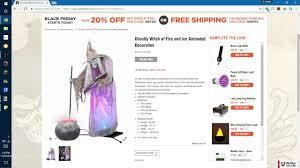 Spirit Halloween Animatronics 2014 by Spirit Halloween 2017 Gemmy Witch Of Fire And Ice Unconfirmed