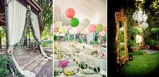 Chic Garden Style Wedding Hitched Planners Singapore Themed Weddings
