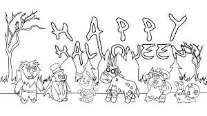 Halloween Printables Templates Coloring Pages