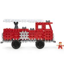 Little Tikes Waffle Blocks Fire Truck Vehicle - Toys