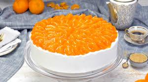 himmlisch frischer mandarinenkuchen mit ganzen mandarinen