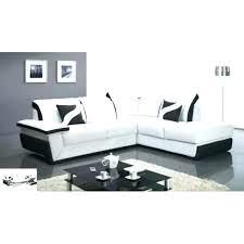 canape convertible noir et blanc canape cuir blanc design dangle canape cuir 321 design noir et blanc