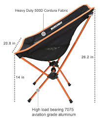 Ultralight Folding Folding Folding Camping Chair,Portable Compact ... 22x28inch Outdoor Folding Camping Chair Canvas Recliners American Lweight Durable And Compact Burnt Orange Gray Campsite Products Pinterest Rainbow Modernica Props Lixada Portable Ultralight Adjustable Height Chairs Mec Stool Seat For Fishing Festival Amazoncom Alpha Camp Black Beach Captains Highlander Traquair Camp Sale Online Ebay