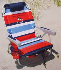 tommy bahama 2015 backpack cooler chair with storage pouch and