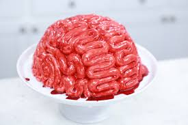Nerdy Nummies Halloween by How To Make A Zombie Brain Cake Rosanna Pansino