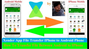 Xender File Transfer Sharing Android to IPhone Xender Apk