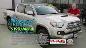 Lewis Toyota March 2017 Tacoma Lease - YouTube 2018 Toyota Tacoma Pickup Truck Lease Offers Car Clo Vehicle Specials Faiths Santa Mgarita New For Sale Near Hattiesburg Ms Laurel Deals Toyota Ta A Trd Sport Double Cab 5 Bed V6 42 At Of Leasebusters Canadas 1 Takeover Pioneers 2014 Hilux Business Lease Large Uk Stock Available Haltermans Dealership In East Stroudsburg Pa 18301 Photos And Specs Photo
