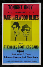 The Blues Brothers Movie Replica Prop Concert Poster Decor Best Canvas Print 50x75cm FREE SHIPPING In Painting Calligraphy From Home Garden On