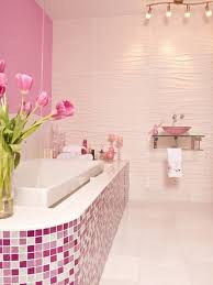 A Perfectly Pink Bathroom
