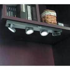 new four led cabinet light wireless closet shelve rv