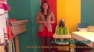 Oxo Tot Seedling High Chair by Oxo Tot Sprout High Chair Youtube