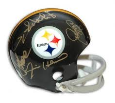 Pittsburgh Steelers Iron Curtain Defense by Steel Curtain Memorabilia Autographed U0026 Signed