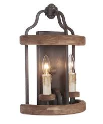ashwood rustic wall sconce rustic wall lighting