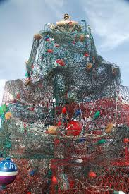 Crab Pot Christmas Trees by Cruising On