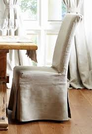 Dining Room Chair Cushions With Ruffles Unique French Provincial Linen Slipcover