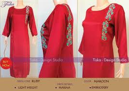 Tiska Latest Fashionable Winter Dresses 2014 For Girls
