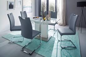 mca furniture esszimmerstuhl schwingstuhl 4er set stuhl belastbar bis max 120 kg