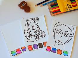 You Now Have Blank Canvases For Artwork Coloring Sheets Or Fun Activity Come On Who Doesnt Love Adding Makeup To Doodled Faces