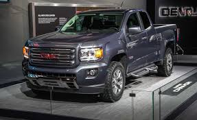 2015 GMC Canyon First Drive | Review | Car And Driver 2016 Gmc Canyon Diesel First Drive Review Car And Driver 042012 Chevrolet Coloradogmc Pre Owned Truck Trend 2017 Denali What Am I Paying For Again 2018 New 4wd Crew Cab Short Box At Banks Sault Ste Marie Vehicles Sale Small Pickup Sle In Nampa D481338 Kendall The Idaho Test Fancy Package Choose Your 2019 Parksville 19061 Harris