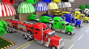 100 Balls On Trucks Street Vehicles Transporter And Lot Of Color To Learning Colors For Children Vehicles
