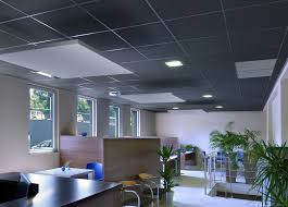 wool suspended ceiling floating acoustic
