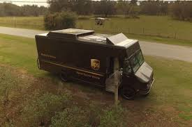 UPS Has A Delivery Truck That Can Launch A Drone - The Verge