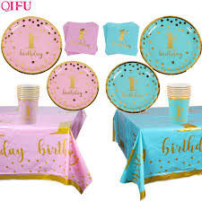 Hot Price #3361 QIFU Pink Blue Disposable Tableware 1st ... With Hat Party Supplies Cake Smash Burlap Baby High Chair 1st Birthday Decoration Happy Diy Girl Boy Banner Set Waouh Highchair For First Theme Decorationfabric Garland Photo Propbirthday Souvenir And Gifts Custom Shower Pink Blue One Buy Bannerfirst Nnerbaby November 2017 Babies Forums What To Expect Charlottes The Lane Fashion Deluxe Tutu Ourwarm 1 Pcs Fabrid Hot Trending Now 17 Ideas Moms On A Budget Amazoncom Codohi Pineapple Suggestions Fun Entertaing Day